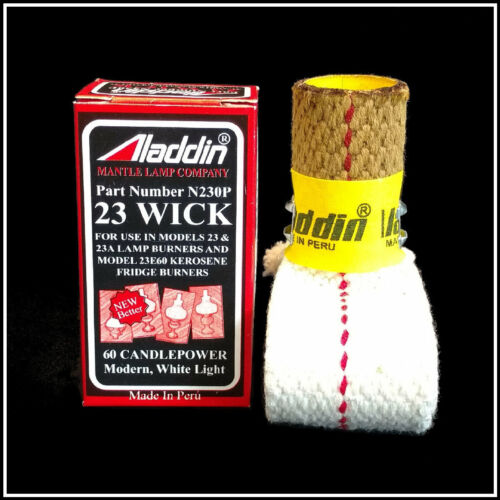 ALADDIN LAMP PART # N230P WICK for MODEL 23, 23A and MAXBRITE BURNERS  - NEW