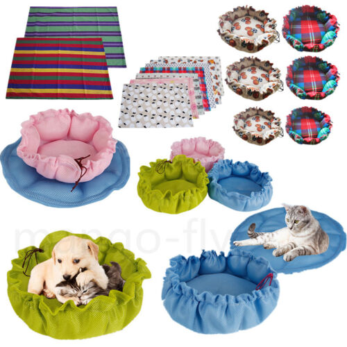 Pet Dog Bed Puppy Cushion Cat House Pet Soft Warm Kennel Puppy Mat Blanket Pad