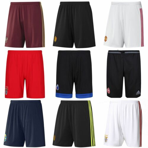 adidas MENS FOOTBALL SHORTS CLIMACOOL BELGIUM BENFICA DENMARK COPENHAGEN RUSSIA <br/> WAS £14.99 NOW REDUCED TO CLEAR AT £9.99 COMBINED POST