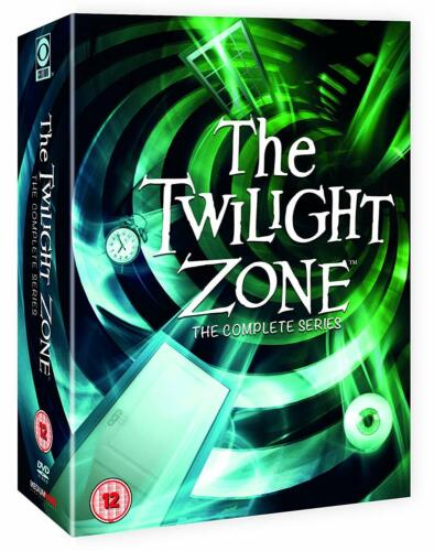 THE TWILIGHT ZONE COMPLETE ORIGINAL SERIES COLLECTION 28 DISC DVD BOX SET R4 NEW