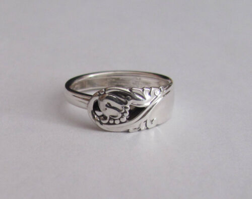 Sterling Silver Spoon Ring - International / Spring Glory - size 8 - 1942