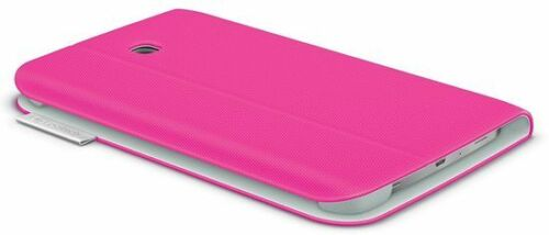 2 X Logitech Folio Protective case for Samsung Galaxy Tab 3 - 7 inch  (Pink)