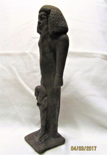 Ancient Egyptian Artifact Statue ISIS with Child HORUS