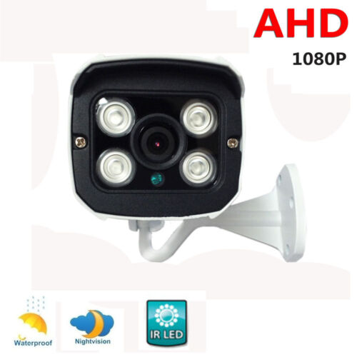 1080P AHD Bullet Camera 2MP HD Analog Outdoor CCTV Security IR Day/Night System