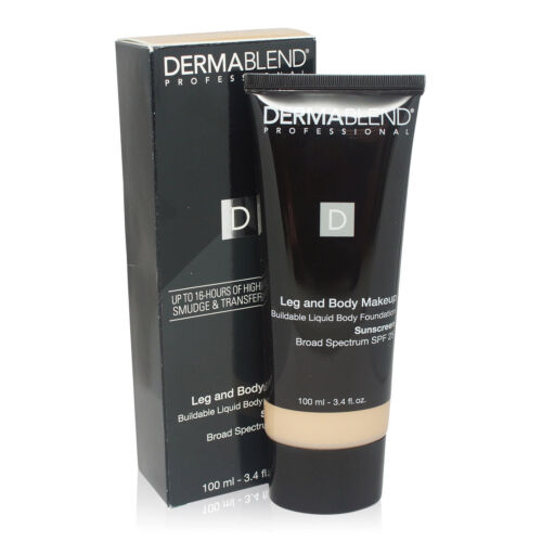 Dermablend Leg and Body MAKEUP SPF  Caramel 3.4 oz