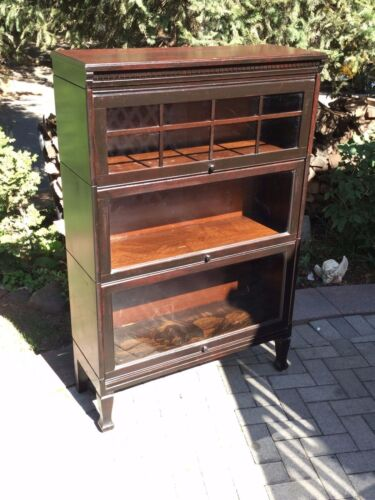 Antique barrister bookcase...Mission style