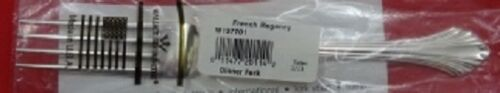 """French Regency By Wallace Sterling Silver Dinner Fork 7 5/8"""" New"""