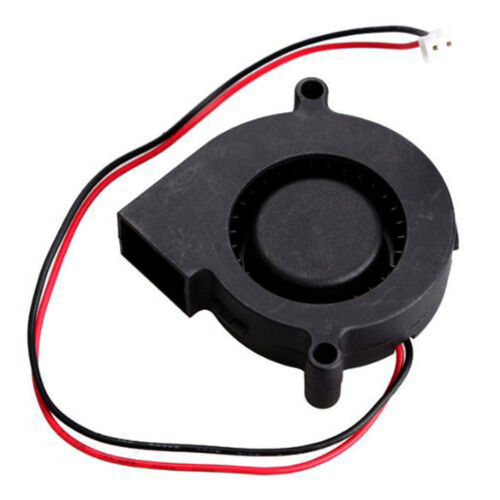 2pcs Brushless DC 12V 0.18A 5015 Cooling Blower Fan 50x15mm for 3D Printer TE726