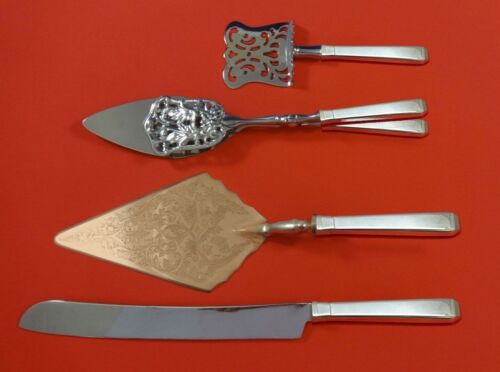 Craftsman by Towle Sterling Silver Dessert Serving Set 4pc Custom Made