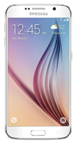 New Unlocked AT&T Samsung Galaxy S6 SM-G920A - 32GB - White Pearl Smartphone