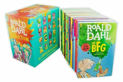 2019 ROALD DAHL Collection 15 Books Box Set Phizz Wizzing Collection Book Brand