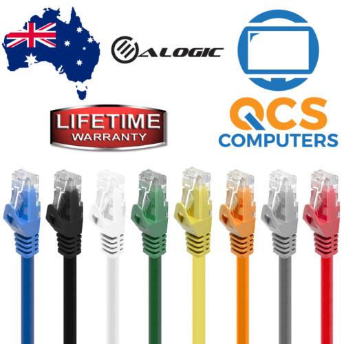 Network Cable CAT6 1000Mbps Lifetime Warranty 0.3m 0.5m 1m 2m 3m and 5M Oz Stock