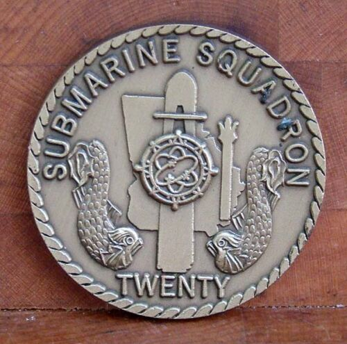 US Navy Submarine Squadron Twenty Challenge Coin Other Militaria - 135