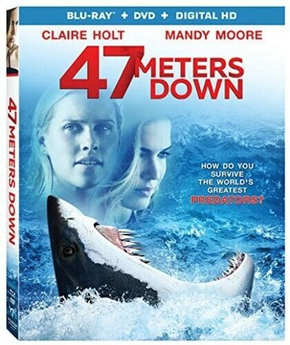 47 Meters Down [New Blu-ray] With DVD, 2 Pack