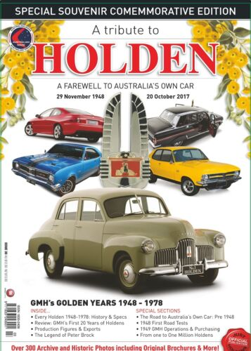 Just Holdens #30 GOODBYE HOLDEN SOUVENIR MAGAZINE