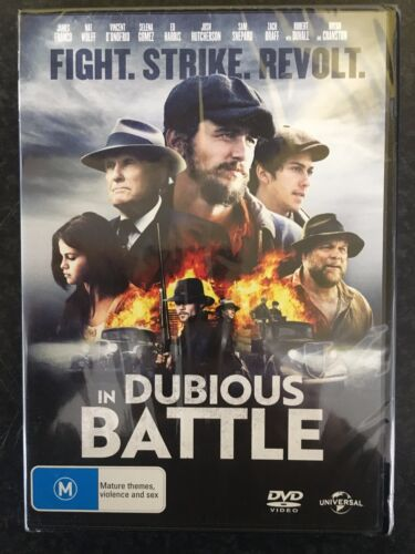 In Dubious Battle brand NEW/sealed region 4 DVD (2016 James Franco drama movie)