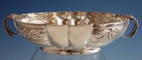 Aztec Rose by Sanborns Mexican Mexico Sterling Silver Bowl Oval (#1779)