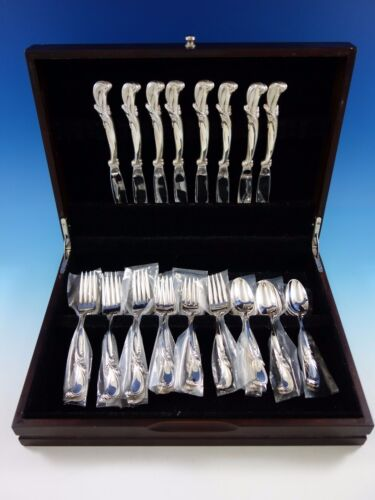 Waltz of Spring by Wallace Sterling Silver Flatware Set for 8 Service 32 pieces