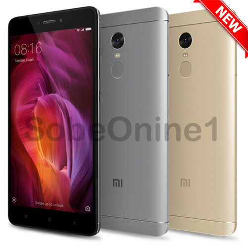 Xiaomi Redmi Note 4, Unlocked, Global Model, Dual Sim, 5.5', Choose Your Color