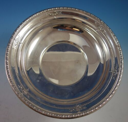 """Orange Blossom by Wallace Sterling Silver Fruit Bowl 10"""" #4275-9 (#1912)"""