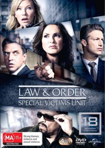 Law And Order - Special Victims Unit: Season 18 - DVD Region 4 Free Shipping!
