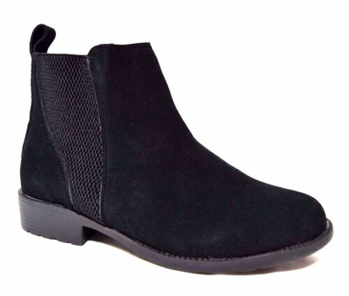 TS TAKING SHAPE sz 37 / 6 Frankie Ankle Boots suede leather wide fit NIB rrp$190