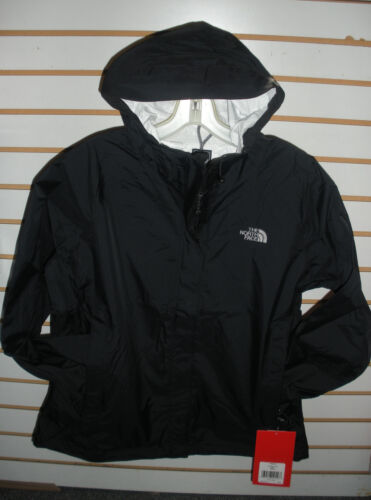 THE NORTH FACE WOMENS VENTURE WATERPROOF JACKET -A8AS- TNF BLACK- S, M, L, XL