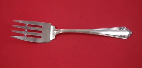"""Shenandoah by Alvin Sterling Silver Cold Meat Fork with Bar 8 1/2"""""""