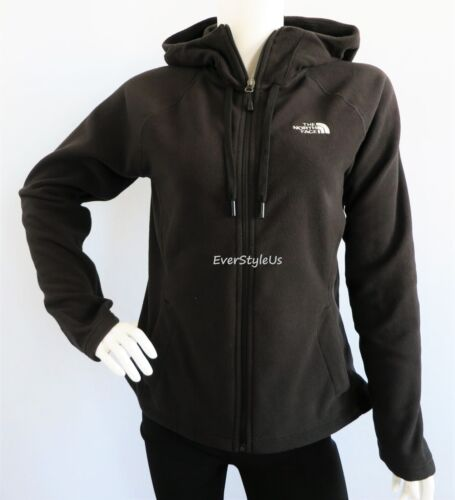 THE NORTH FACE Women's Tundra Black Fleece Hoodie Jacket 100 WT MSRP $70