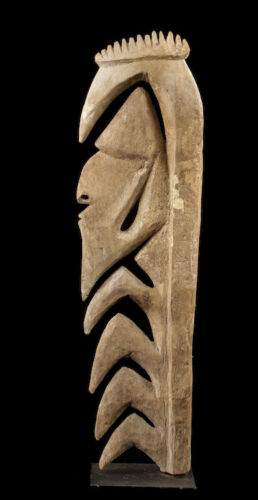 yipwon cult figure, karawari river, papua new guinea, oceanic tribal art