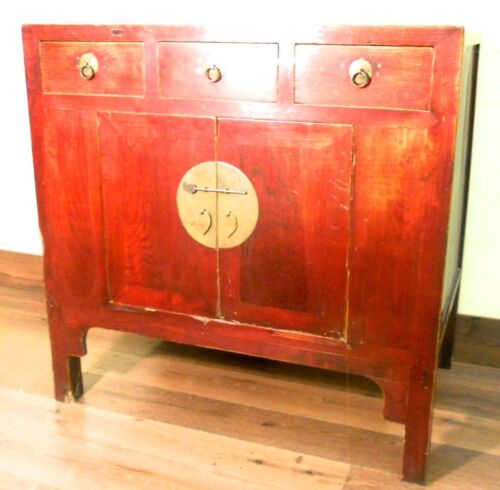 Antique Chinese Ming Cabinet/sideboard (5957), Circa 1800-1849