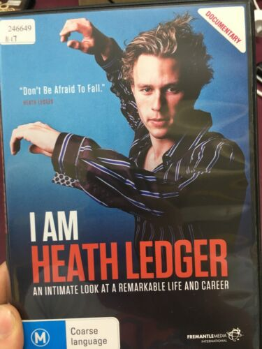I Am Heath Ledger ex-rental region 4 DVD (2017 documentary movie)