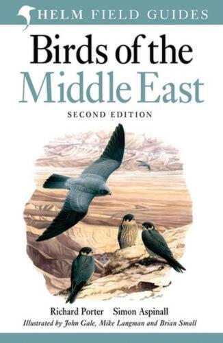Birds of the Middle East by Richard Porter Paperback Book Free Shipping!