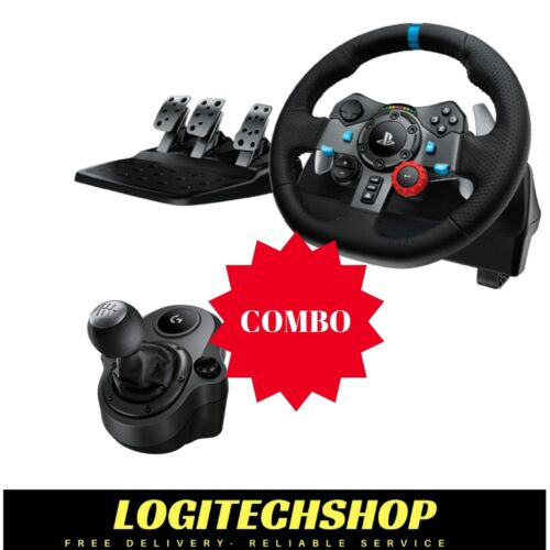 Logitech G29 Driving Force Wheel For PS3 / PS4 & PC + SHIFTER (Free Postage)