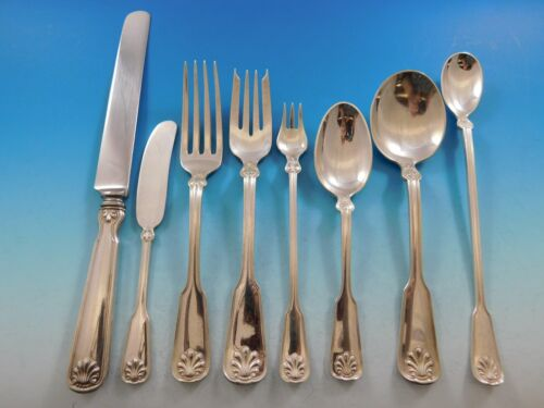 Shell and Thread by Tiffany & Co. Sterling Silver Flatware Set for 12 Service