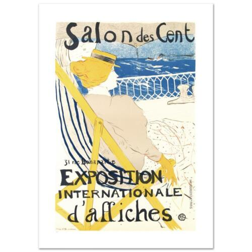 """""""Salon Des Cent"""" Hand Pulled Litho by the RE Society, Orig. Toulouse-Lautre"""