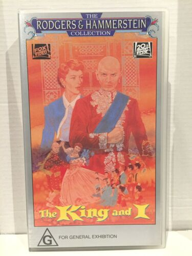 THE KING AND I ~ DEBORAH KERR & YUL BRYNNER ~ BRAND NEW & SEALED VHS VIDEO