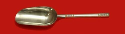 Aegean Weave Gold by Wallace Sterling Silver Ice Scoop HH WS Custom 9 3/4""