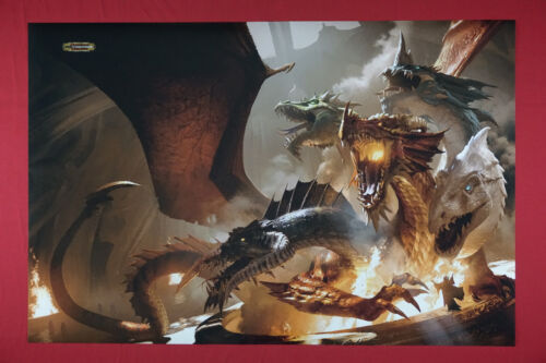 Dungeons and Dragons Magical Wizard Summon Spell D&D Picture Poster 24X36  DSUM