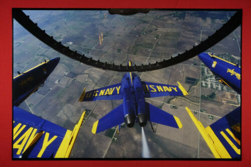 Blue Angels Angel US Navy Flying Inverted Cockpit Picture Poster 24X36 New  BAIC