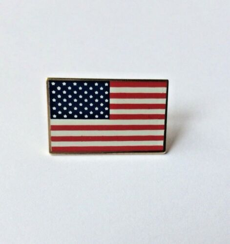 AMERICAN FLAG LAPEL PIN MADE IN USA Hat Tie Tack Badge Pinback VOTE