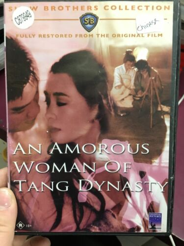An Amorous Woman Of Tang Dynasty ex-rental DVD (1984 Shaw Brothers movie)