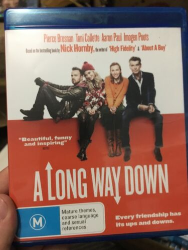 A Long Way Down BLU RAY (2014 Pierce Brosnan / Toni Collette comedy drama movie)