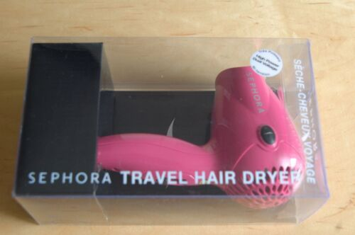 Sephora Hair Dryer Dual Voltage 1200W - Pink - Limited Edition Great for Travel