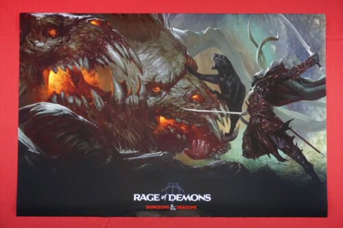 Dungeons and Dragons Rage of Demons Dragon D&D Picture Poster 24X36 NEW   DDRD