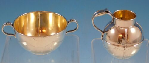 Old French Gorham Sterling Silver Creamer and Sugar Set 2pc #A7845 (#2286)
