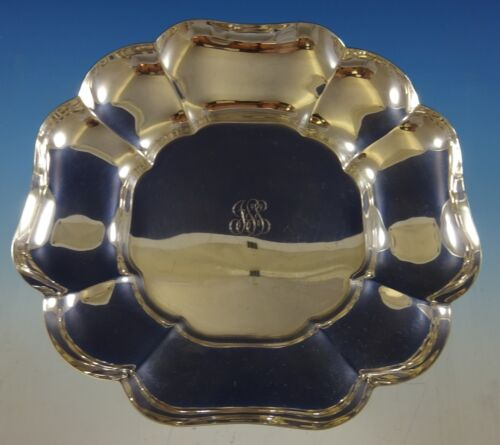 """Old Maryland Plain by Kirk Sterling Silver Bowl #530 10"""" Diameter (#2445)"""