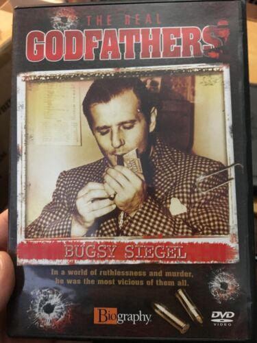 The Real Godfathers - Bugsy Siegel region 2 DVD (gangster documentary)
