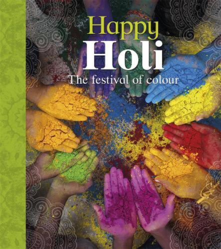 Let's Celebrate: Happy Holi by Joyce Bentley Paperback Book Free Shipping!