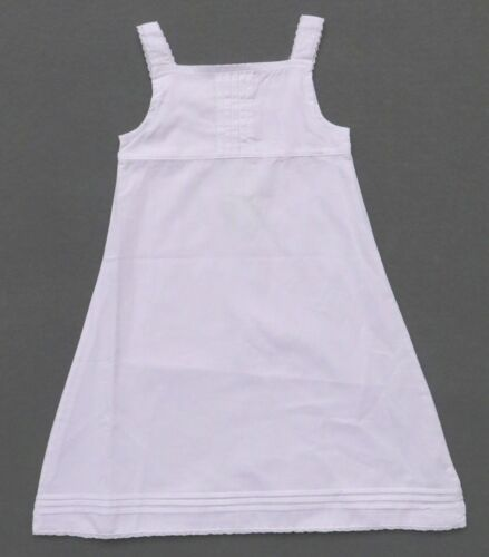 BUMBLE BABY TODDLER GIRLS SOLID WHITE A-LINE SLEEVELESS DRESS BOUTIQUE CLOSE OUT